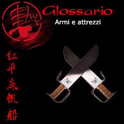glossario armi e attrezzi