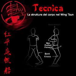 La struttura del corpo nel Wing Tsun